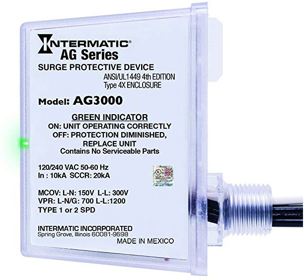 Intermatic AG3000 Surge Protector