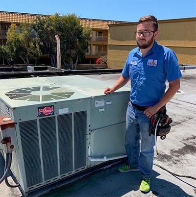 Repairing Rooftop Unit
